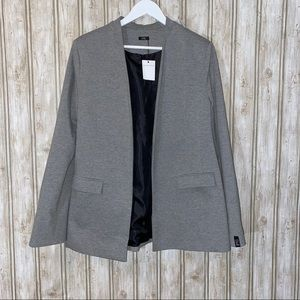 BEWARE Heather Gray Casual Blazer